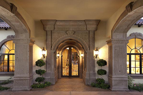 Photo gallery architectural stone elements for Cantera pillars