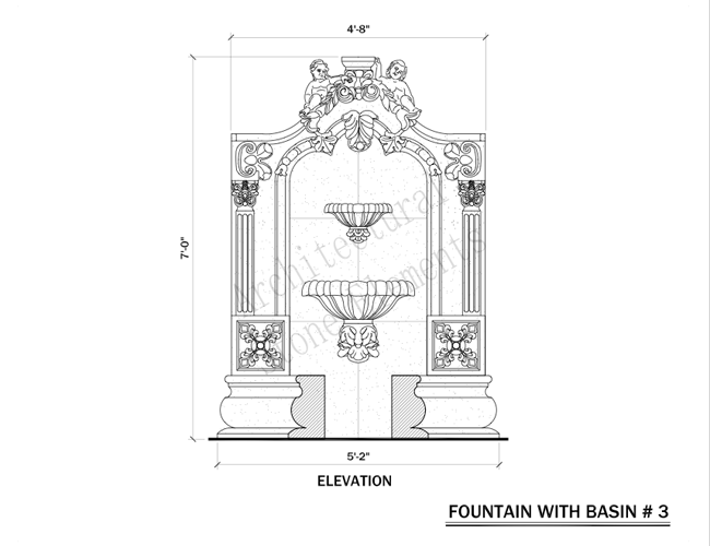 Wall fountains portfolio architectural stone elements wall fountains wall fountains wall fountains ccuart Image collections